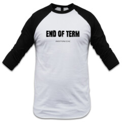 End of Term - Men's Raglan Logo Shirt